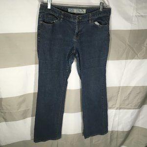Ann Taylor Loft Curvy Boot Cut Jeans Size 12